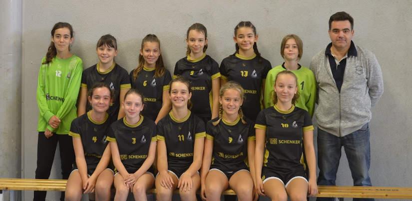 Photo U14 féminines