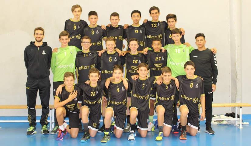 Photo U15 masculins