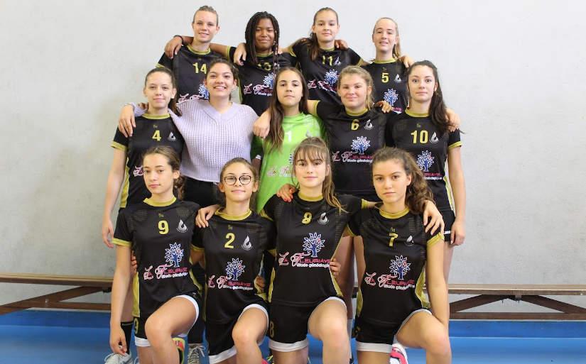 Photo U16 féminines